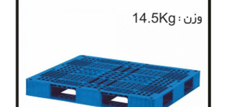 کارگاه تولید پالت های پلاستیکی کدP35