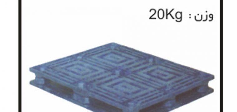 تولید انواع پالت های پلاستیکی کد:p501